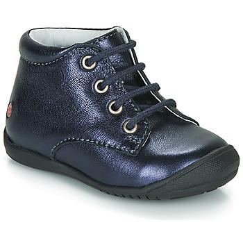 Topánky Dievčatá Polokozačky GBB NAOMI Námornícka modrá