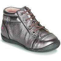 Topánky Dievčatá Polokozačky GBB NICOLE Fialová  / Ružová