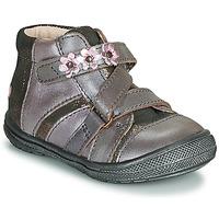 Topánky Dievčatá Polokozačky GBB NICOLETA Wood / De / Ružová
