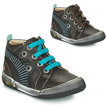 Topánky Chlapci Členkové tenisky GBB NOAH Hnedá / Modrá