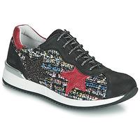 Topánky Dievčatá Nízke tenisky Achile LAURA Čierna / Červená / Viacfarebná
