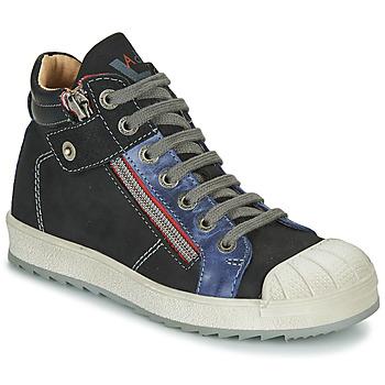Topánky Chlapci Členkové tenisky Achile DIEGO Čierna / Modrá