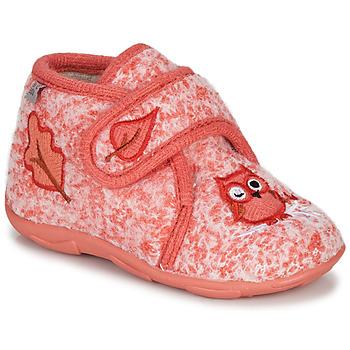 Topánky Dievčatá Papuče GBB NEOPOLO Ružová / Červená