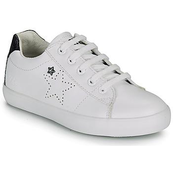 Topánky Dievčatá Nízke tenisky Ikks MOLLY Biela / Čierna