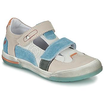 Topánky Chlapci Sandále GBB PRINCE Krémová / Béžová / Modrá