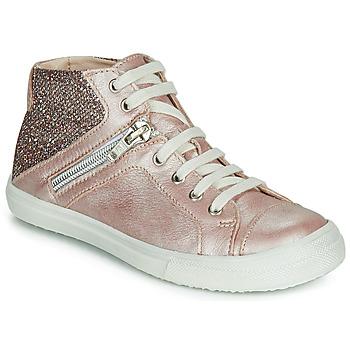 Topánky Dievčatá Členkové tenisky Achile KAMI Ružová