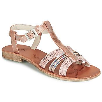 Topánky Dievčatá Sandále Achile KIMITSU Ružová