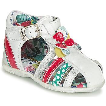 Topánky Dievčatá Sandále Catimini PERSAN Biela / Viacfarebná
