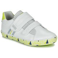 Topánky Chlapci Nízke tenisky Ikks JOE Biela / Žltá