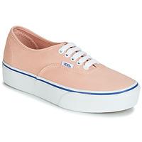 Topánky Ženy Nízke tenisky Vans AUTHENTIC PLATFORM 2.0 Ružová