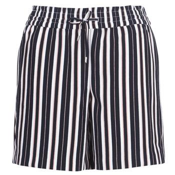 Oblečenie Ženy Šortky a bermudy Only ONLPIPER Námornícka modrá / Biela