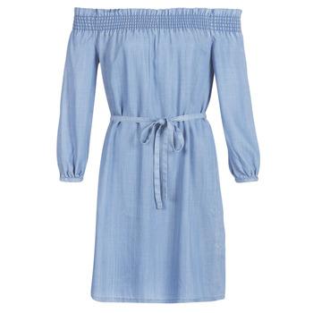 Oblečenie Ženy Krátke šaty Only ONLSAMANTHA Modrá