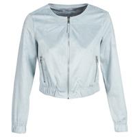 Oblečenie Ženy Kožené bundy a syntetické bundy Only ONLLEONA Modrá