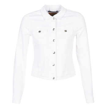 Oblečenie Ženy Džínsové bundy Only ONLTIA Biela