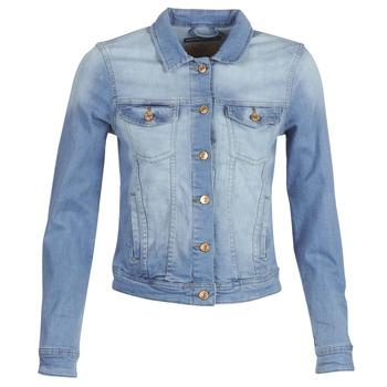 Oblečenie Ženy Džínsové bundy Only ONLTIA Modrá