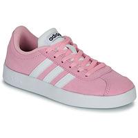 Topánky Deti Nízke tenisky adidas Originals VL COURT K ROSE Ružová