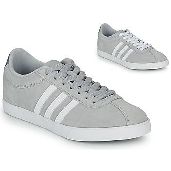 Topánky Ženy Nízke tenisky adidas Originals COURTSET GRIS Šedá