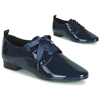 Topánky Ženy Derbie André GOURMANDISE Námornícka modrá