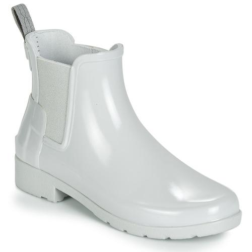 Topánky Ženy Čižmy do dažďa Hunter ORIGINAL KIDS Šedá