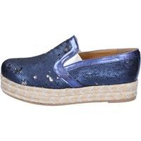 Topánky Ženy Espadrilky Olga Rubini Mokasíny BS110 Modrá