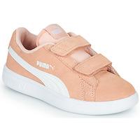 Topánky Dievčatá Nízke tenisky Puma SMASH PSV PEACH Koralová