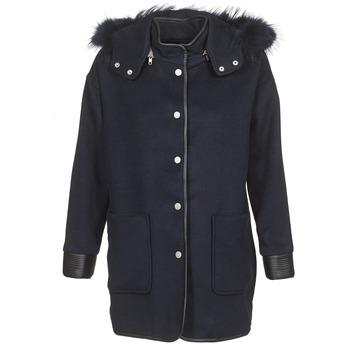 Oblečenie Ženy Kabáty Suncoo ELFIE Námornícka modrá