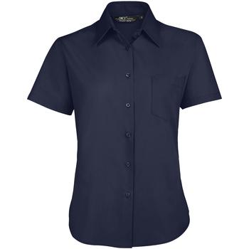 Oblečenie Ženy Košele a blúzky Sols ESCAPE POPELIN WOMEN Azul