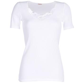 Spodná bielizeň Ženy Nátelníky Damart CLASSIC GRADE 3 Biela