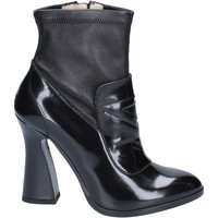 Topánky Ženy Čižmičky Roberto Botticelli Členkové Topánky BS280 Čierna