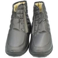 Topánky Ženy Obuv do snehu John-C Dámske sivé členkové čižmy E-LUX sivá