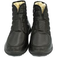 Topánky Ženy Obuv do snehu John-C Dámske čierne členkové čižmy E-LUX čierna