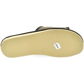 Topánky Muži Papuče John-C Pánske sivé papuče LEOL sivá