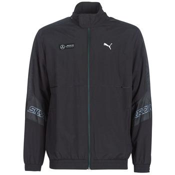 Oblečenie Muži Vrchné bundy Puma MAPM STREET WOVEN JACKET MERCEDES Čierna