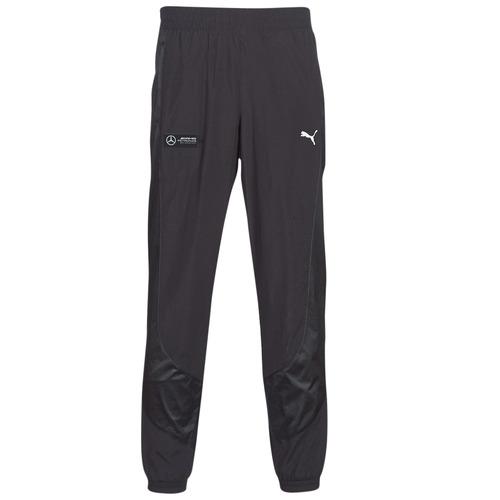 Oblečenie Muži Tepláky a vrchné oblečenie Puma MAPM STREET WOVEN PANTS MERCEDES Čierna