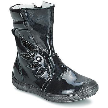 Topánky Dievčatá Čižmy do mesta GBB LIVIANA čierna