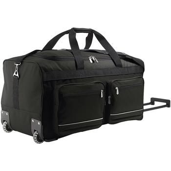 Tašky Pružné cestovné kufre Sols VOYAGER BIG TRAVEL Negro