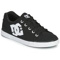 Topánky Ženy Skate obuv DC Shoes CHELSEA TX Čierna / Biela