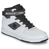 Topánky Muži Členkové tenisky DC Shoes PENSFORD SE Biela / Čierna