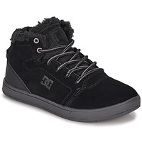 Topánky Deti Členkové tenisky DC Shoes CRISIS HIGH WNT Čierna