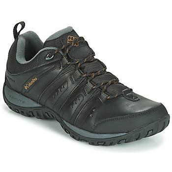 Topánky Muži Univerzálna športová obuv Columbia WOODBURN II WATERPROOF Čierna