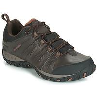 Topánky Muži Univerzálna športová obuv Columbia WOODBURN II WATERPROOF Hnedá