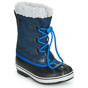 Topánky Deti Snehule  Sorel YOOT PAC NYLON Námornícka modrá