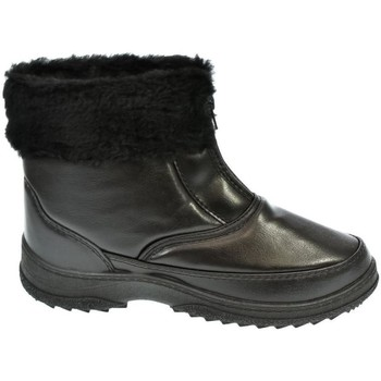 Topánky Ženy Snehule  John-C Dámske čierne členkové čižmy INORA čierna