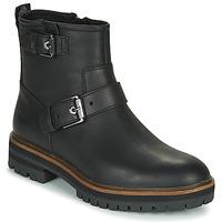 Topánky Ženy Polokozačky Timberland LONDON SQUARE BIKER Čierna
