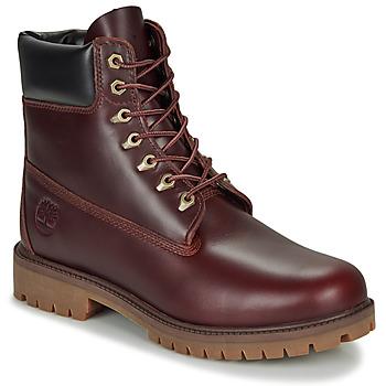 Topánky Muži Polokozačky Timberland 6 INCH PREMIUM BOOT Hnedá