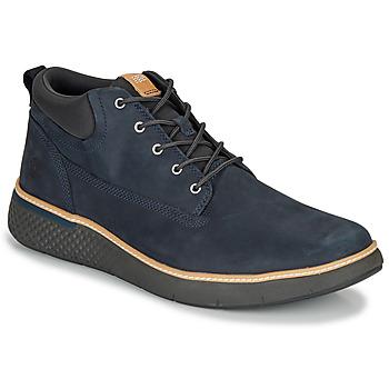 Topánky Muži Členkové tenisky Timberland CROSS MARK PT CHUKKA Modrá
