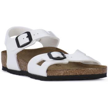 Topánky Chlapci Sandále Birkenstock RIO WHITE Bianco