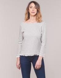 Oblečenie Ženy Tričká s dlhým rukávom Betty London KARA Biela / Námornícka modrá