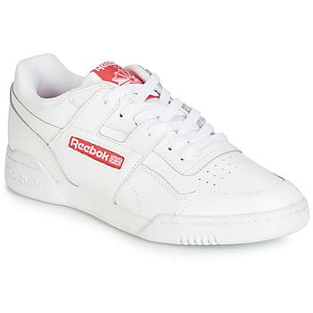 Topánky Nízke tenisky Reebok Classic WORKOUT PLUS MU Biela / Červená