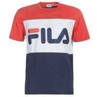 Oblečenie Muži Tričká s krátkym rukávom Fila DAY TEE Námornícka modrá / Červená / Biela